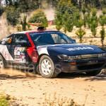 Safari Rally Nissan 180SX rally car