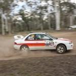 WRX STi rally car 2 door