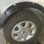 Wheel arch flares Silvia rally car