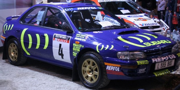 Subaru Impreza Wrx Rally Car