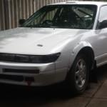 Silvia S13 rally car