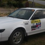 Nissan Silvia rally car complete