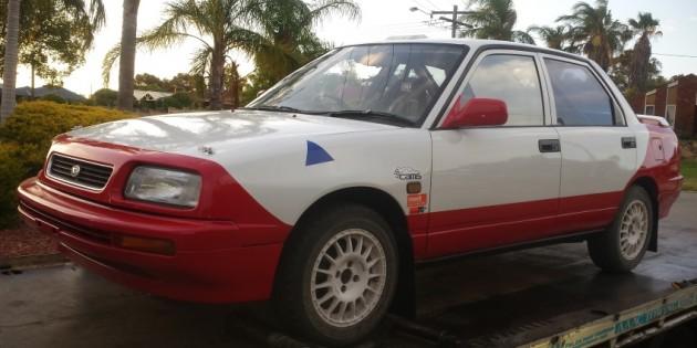 Daihatsu Applause Rally Car Build Part 3