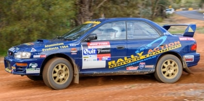 The Ultimate day behind the wheel of a WRX rally car