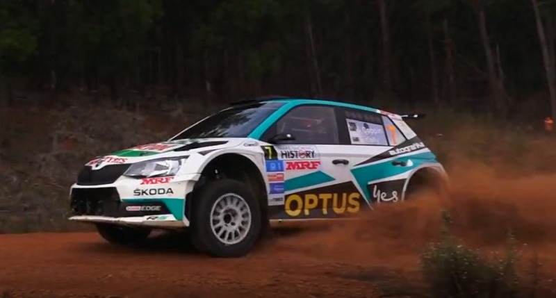 AP4 Rally car Skoda