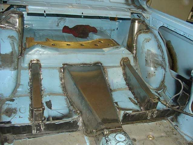 Fitting a 5 link rear end to a club rally car Escort Mk II