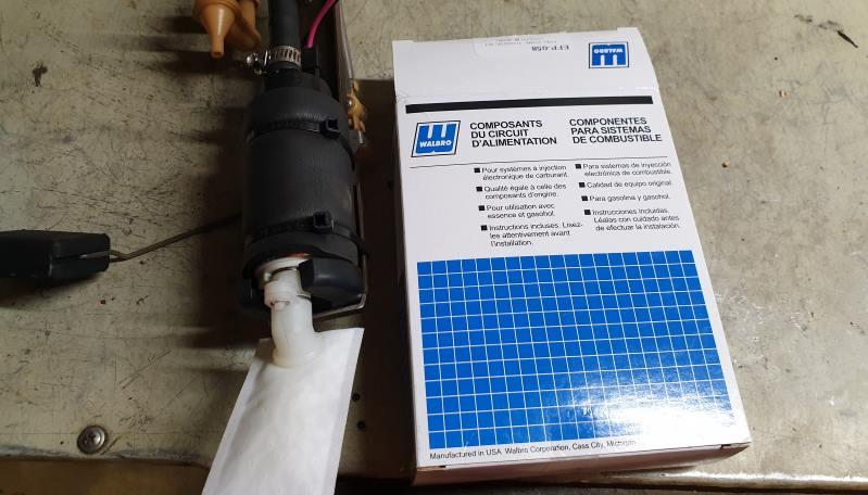 Warlbro fuel pump to suit WRX