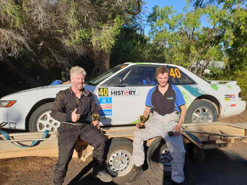 Lance and Ross were 3rd Clubman Masters Forest Rally 2019 in thier Nissan Silvia S13