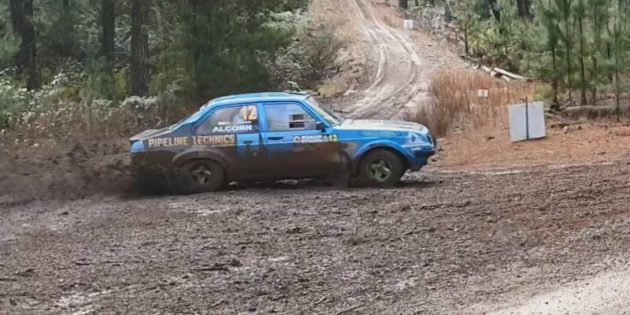 Glenn Alcorn/Lee Tierney on the 2019 Kirup Stages Rally