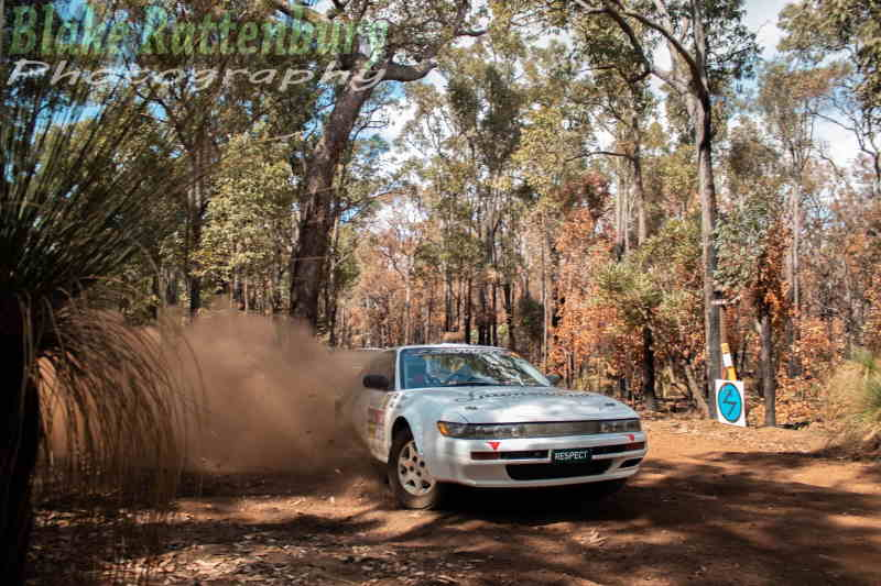 2019 Clubman Masters champions, Lance Stringer/Chris Parish take a commanding lead on the 2019 Darling 200 Rally.
