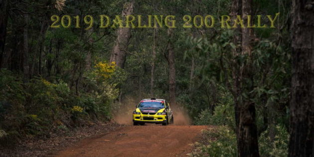 Ben Searcy/Jimmy Marquet spectacular scenery on the 2019 Darling 200 rally