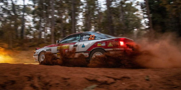 Mark Keltie & Graham Mogg on the 2019 Experts Cup Rally