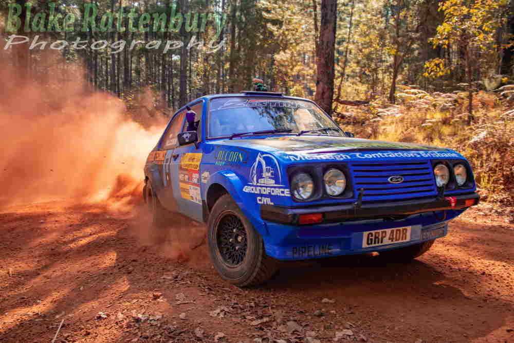 Glenn Alcorn/Shaun Macmacken had tyre trouble on the 2019 Experts Cup and dropped some time in 2WD.