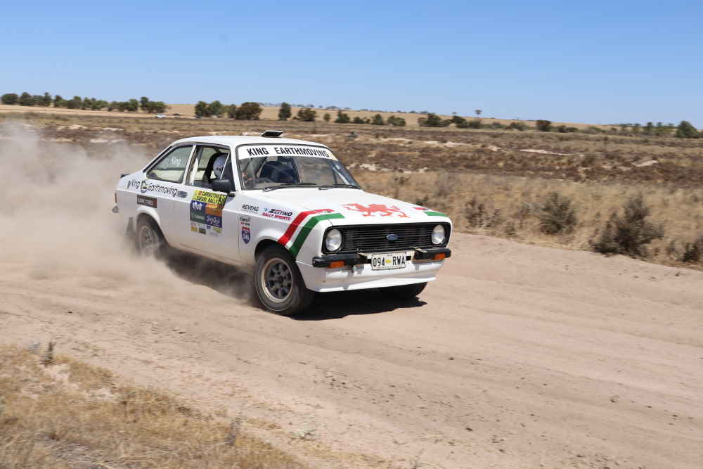 Sideways in a Khanacross. There are five in next years 2020 Rally WA Calendar