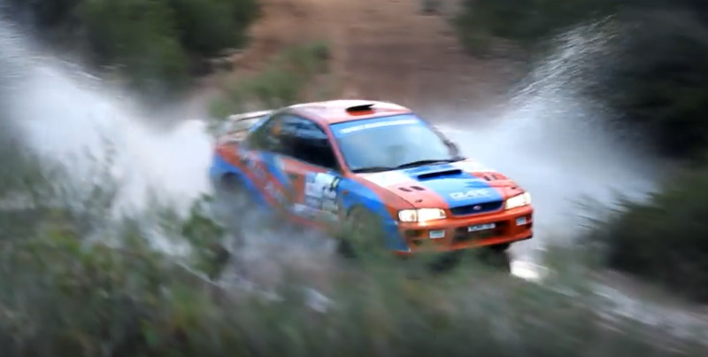 2014 Boddington. WA Rally got to use the famous jumps and water splash once more.