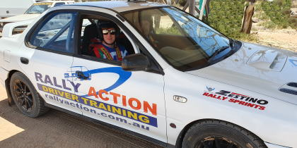 Rally Thrills the best introduction to Rally Driving in Perth