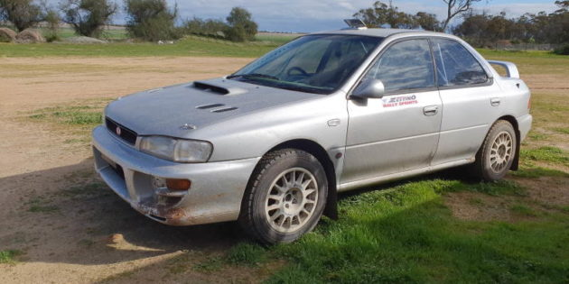 The completion of the Subaru WRX rally car build