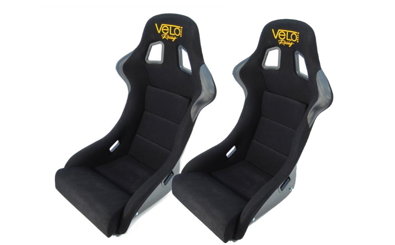 A pair of race seats is a must when building a rally car.