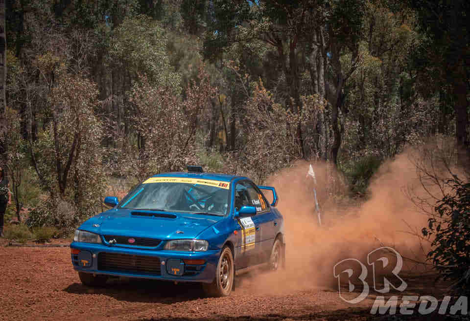 Loose and dusty roads on the 2020 Safari Darling rally